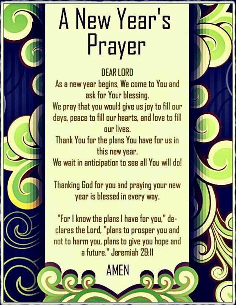 what religion is the new year a new year s prayer amen god amen