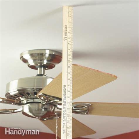 ceiling fans wobble correction ceilingpost