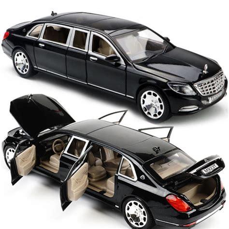 new limousine car 1 24 mercedes maybach s600 limousine diecast metal model
