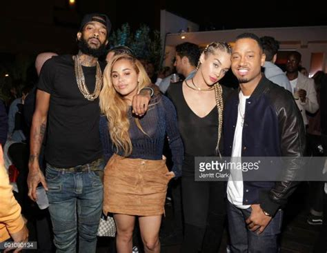 photis of lauren london on the game with blonde hair nipsey hussle stock photos and pictures getty images