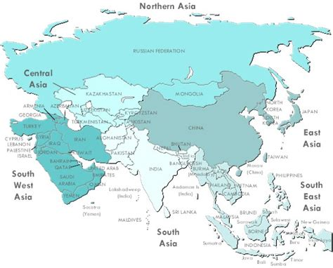 free map of asia free clipart map of asia