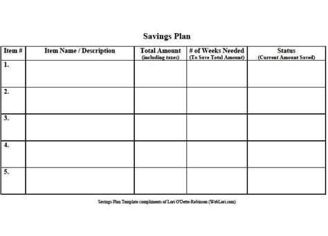 savings planner template 12 best images about free budgeting templates on