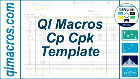 capability analysis excel template 8 capability study excel template exceltemplates