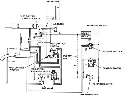 egr valve diagram repair guides emission controls exhaust gas