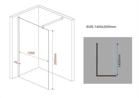 paroi fixe robusta 300cm 233 paisseur 10mm paroi de