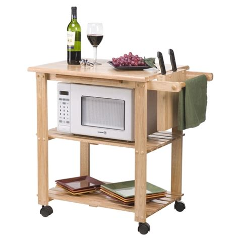 Kitchen Utility Cart Solid Beechwood Creativeworks Home Decor Kitchen Carts