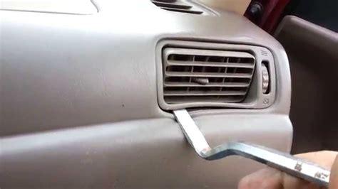 automotive air conditioning repair 1999 toyota corolla auto manual car ac vents diagram repair wiring scheme