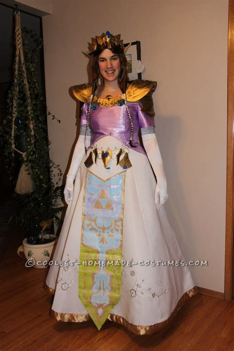 pattern for princess zelda costume awesome homemade zelda costume the twilight princess