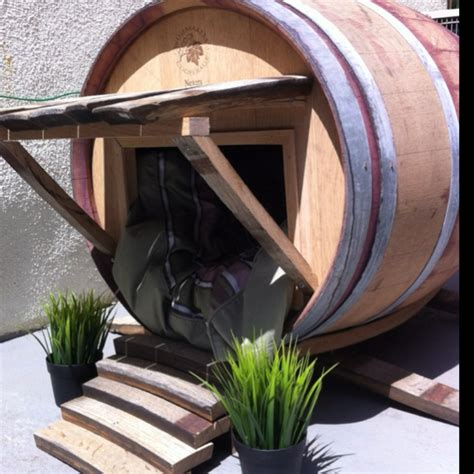 dog house barrel 1000 images about dog houses on pinterest for dogs traditional pet supplies and