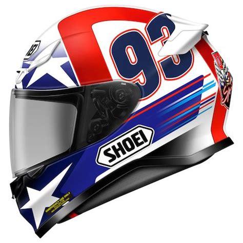design helm marquez shoei rf 1200 indy marquez helmet revzilla