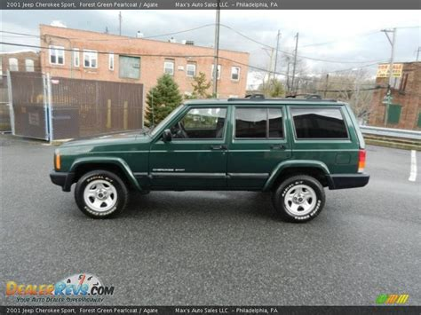 2001 Green Jeep Forest Green Pearlcoat 2001 Jeep Sport Photo 11