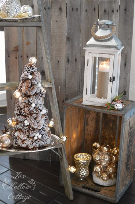 vintage rustic home decor christmas home decorating ideas with homegoods fox
