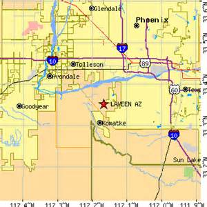 tolleson arizona map laveen arizona az population data races housing