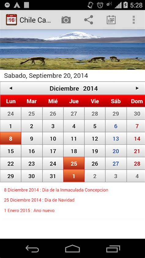 peru calendario 2015 android apps on google play chile calendario 2015 android apps on google play