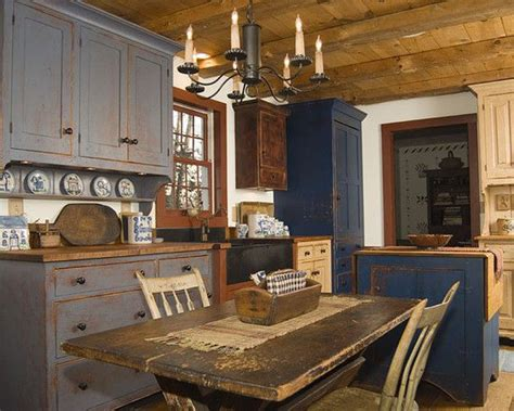 rustic kitchen ideas primitive kitchen for the home pinterest