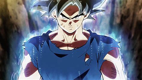 gif son goku anime dragon ball super brave wallpaper