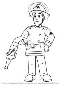 learn draw elvis cridlington fireman sam fireman sam step step drawing tutorials