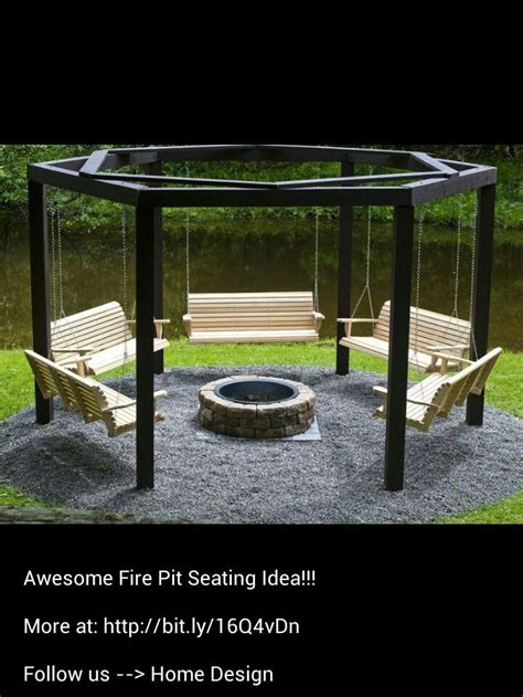 fire pit swing seating 20 best images about fire pit on pinterest fire pits