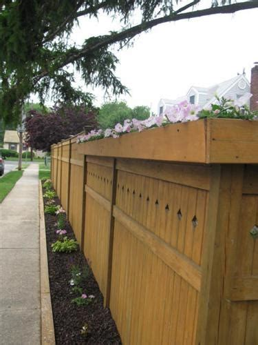 Privacy Fence Planter Box by 47 Best Images About Fence Ideas On Fence