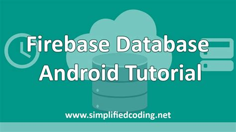 firebase demo tutorial firebase database android tutorial demo youtube
