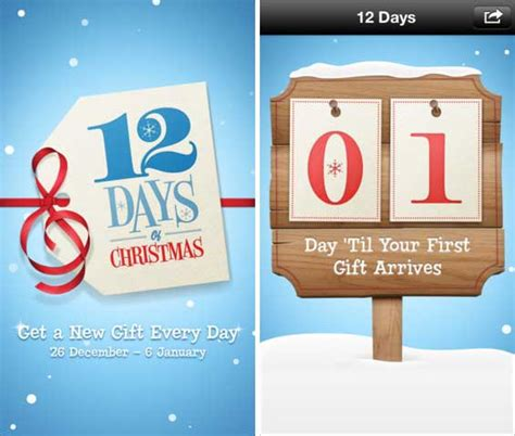 apple launches annual 12 days of christmas app in europe