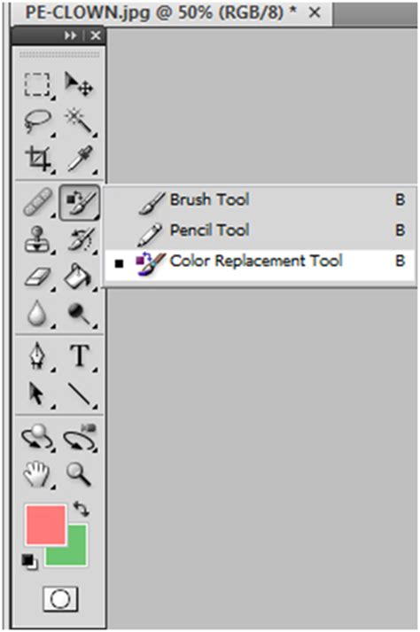 how to use color replacement tool photoshop detailed tutorial site