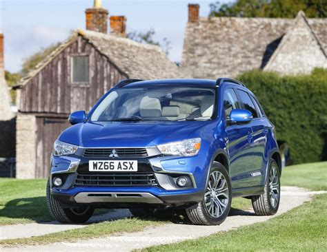 mitsubishi asx 2017 mitsubishi asx revised 2017 model launch and road test