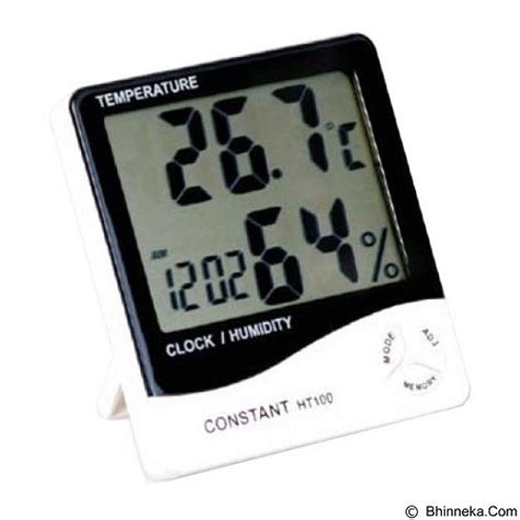 Multimeter Constant 50 jual constant temperature and humidity meter with clock
