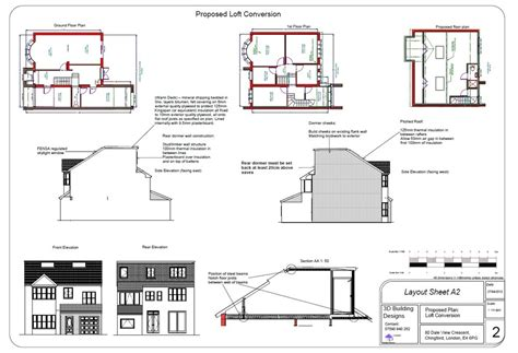 Dormer Loft Conversion Plans shell build dormer loft conversion loft conversions in chingford east mybuilder
