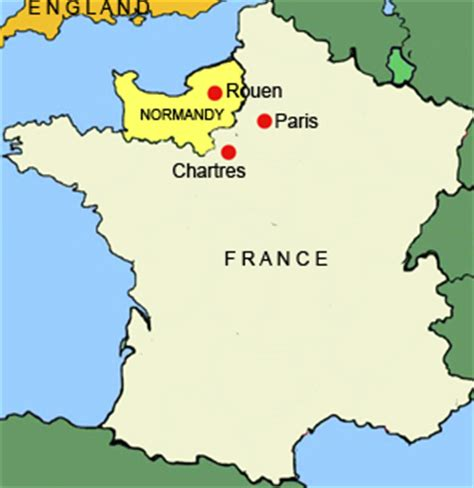 normandy map the founding of normandy durham world heritage site