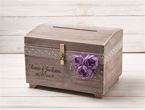 wedding box with lock large wedding card box with a lock and key keepsake chest