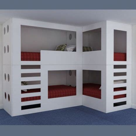 quadruple bunk bed 17 best triple quad bunk loft beds for kids images on
