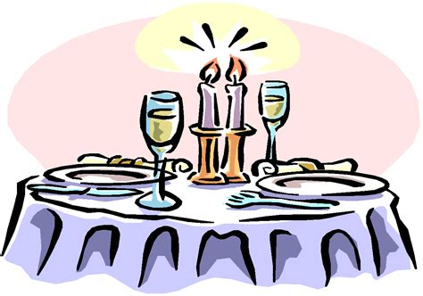 clipart cena table setting clipart cliparts co