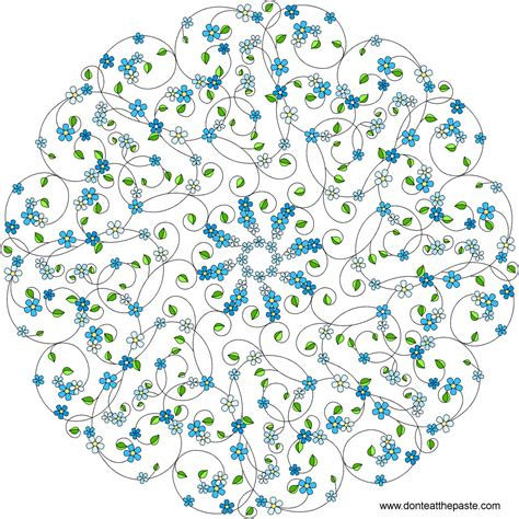 in the mind of cabos coloring book books don t eat the paste forget me not mandala