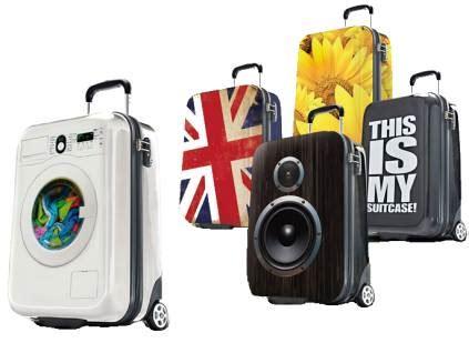 suitsuit suitcases with unique designs