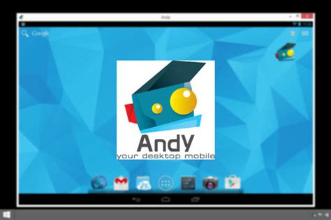 andy the android on with andy the android emulator for windows itworld