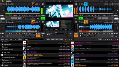 dj song editing software free download full version dex 3 dj and video mixing software for pro djs pcdj