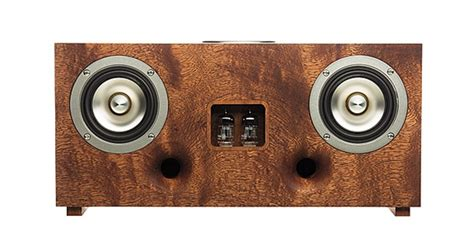 beautiful speakers a beautiful brainy wireless speaker tubecore duo review