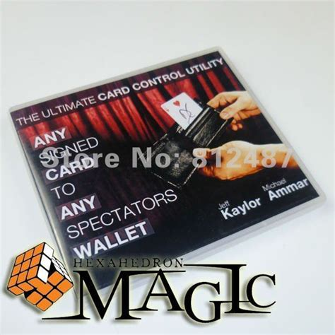 Any Card To Any Wallet 2014hot new item any card to any spectator s wallet black