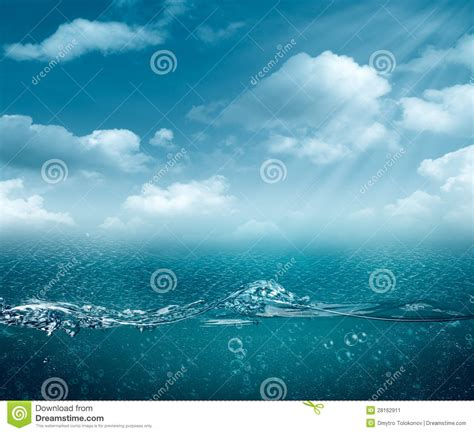abstract ocean wallpaper abstract sea and ocean backgrounds stock image image