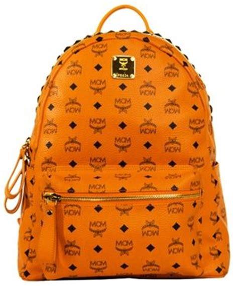 Backpack Stud Crown medium the most popular sized mcm stark pyramid crown top backpack top stud stark mcm logo