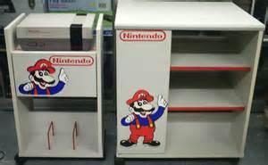 Video Game Storage Cabinet Video Game Display Retro Nintendo Storage Cabinets Tv