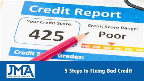 5 steps to profit through bad credit how one did the unbelieaveable and turned his finances around and you can books 5 steps to fixing bad credit jma credit