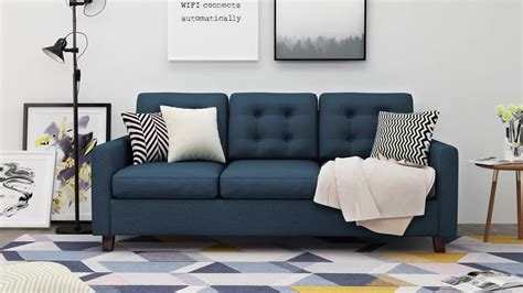 folding living room furniture american style fabric folding sofa bed living room
