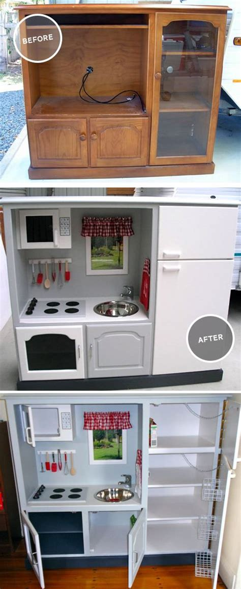 play kitchen reinvented from old furniture for my 25 best images about redoing harmonys room on pinterest