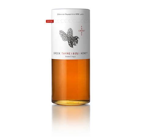 foods cross honey packaging design digital graphic