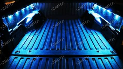 led truck bed cargo lights universal truck bed rgb led lights cargo area storage