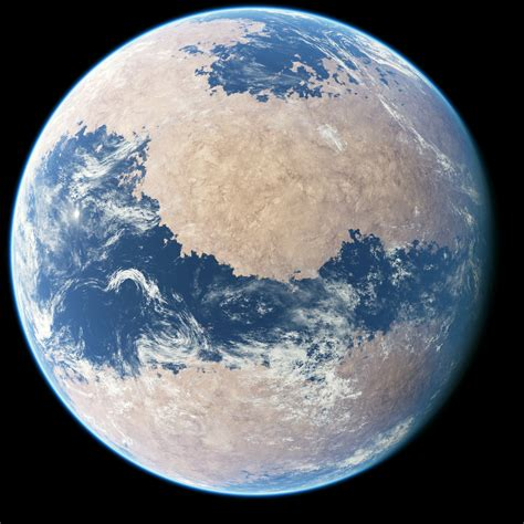 The Planet procedural planet package pre release images release update