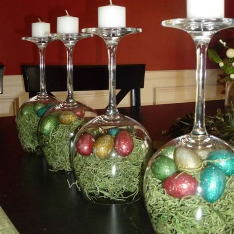 prop up some art 15 easy christmas decorations real simple 25 best ideas about easter table settings on pinterest