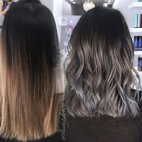 brown hair with grey highlights 25 beautiful brown with grey highlights ideas on